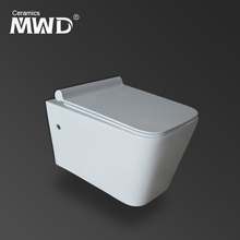High volume flush toilet water soft close cover seat save flushing wall hung toilets M2370