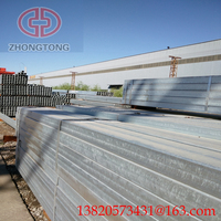 Zhongtong ASTM A53 steel pipe astm a120 black Rectangular pipe/tube /furniture black steel pipe