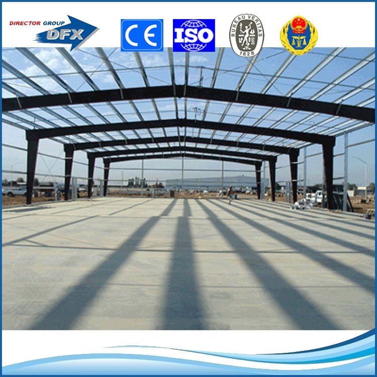 china steel structure prefab certificated metal frame tire workshop