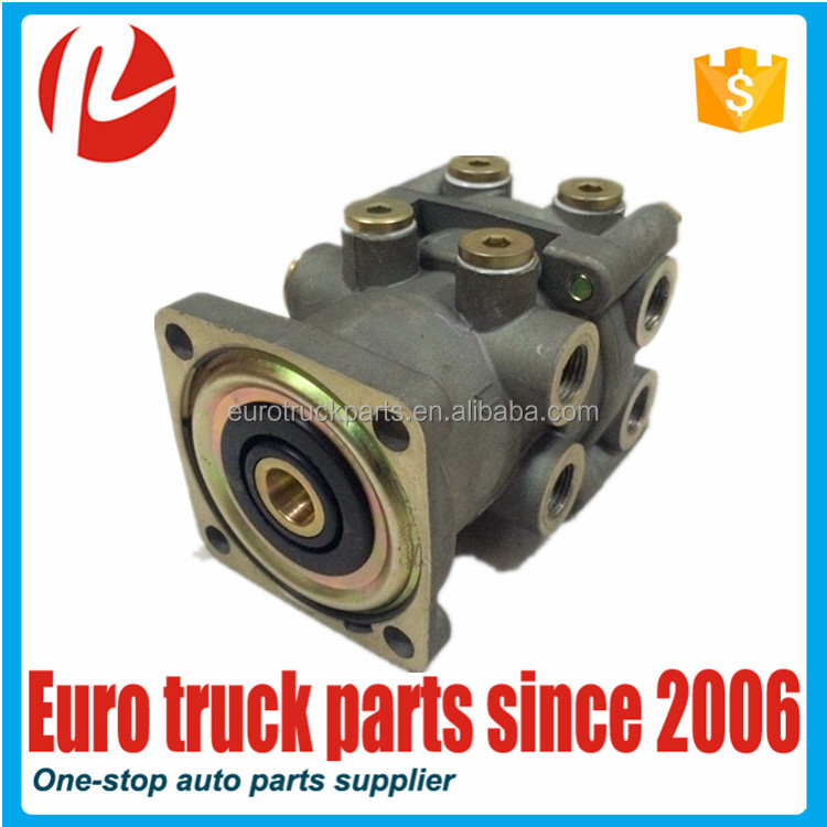 European truck auto spare parts oem MB4648 trailer foot brake valve for DAF CF85 air brake valve