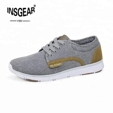 Comfortable Washed Canvas Men Casual Sneakers