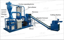 Waste and used tire cutting machine/Rubber powder production line/Rubber cutting machine