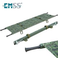 New folding pole stretcher for army convenient to use stretchers for sale