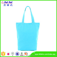 Wholesale cotton tote bag zipper lock handbag organiser