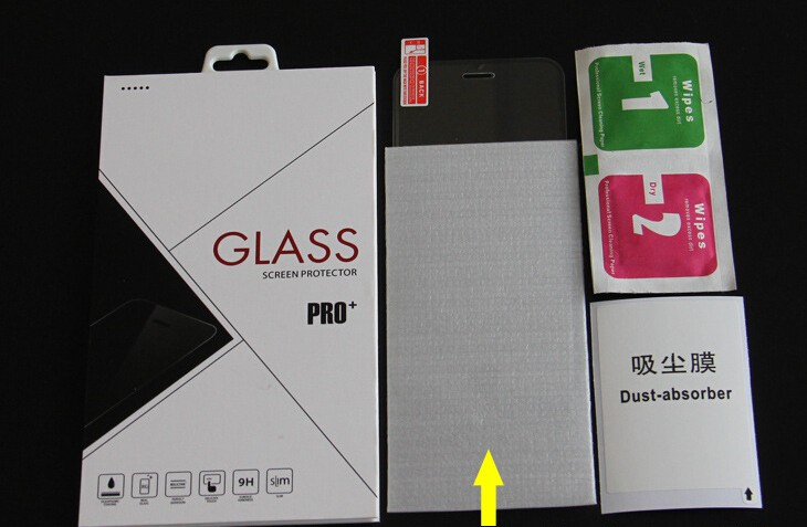 Premium Tempered Glass Screen Protector Protective Film For Sony Xperia Z1 L39H Screen Protector With Retail Package