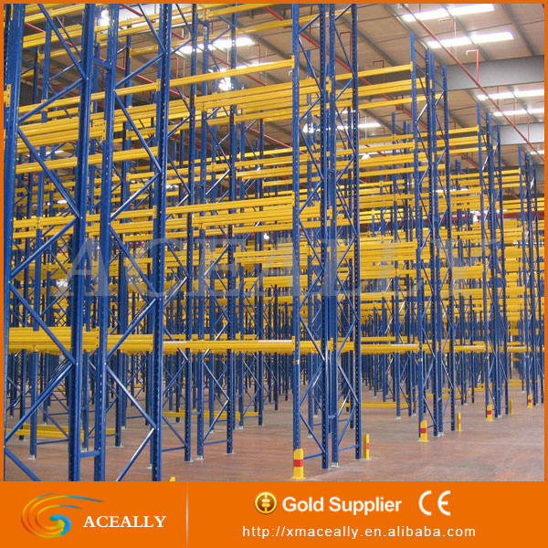Heavy duty steel frame pallet racking house support bar rack warehouse