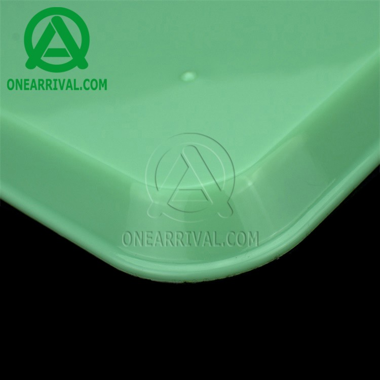 Verified production line widely hot selling multicolor large dental tray