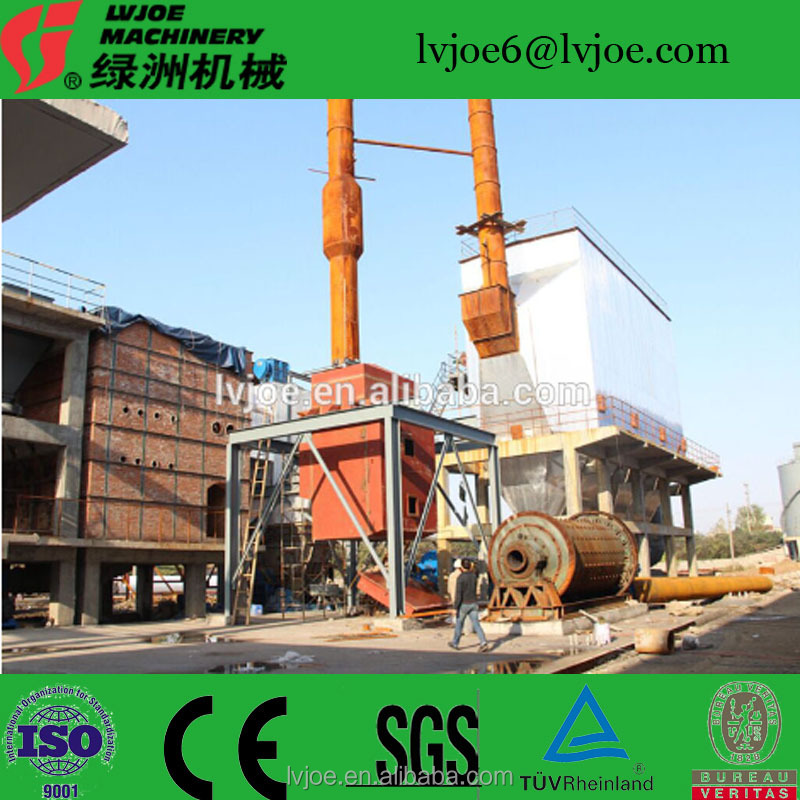 modified gypsum powder/plaster of paris production line /making machine