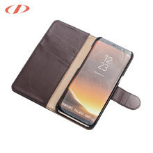 OEM models welcome genuine leather cases for samsung button covered