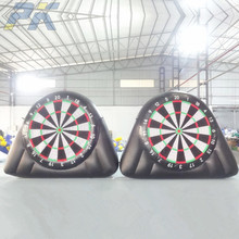 PK outdoor inflatable digital dart board for inflatable soccer darts