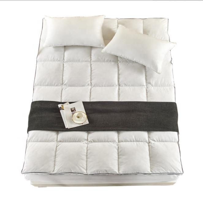 Whosale high quality cheaper duck down feather mattress topper - Jozy Mattress | Jozy.net