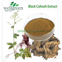 black cohosh extract, Triterpenoid Saponins:1.5% 2.5% 8% HPLC, 10:1, 20:1, 30:1