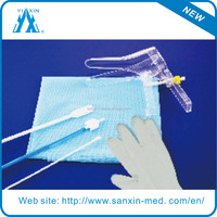 2015 HOT SALE Disposable vaginal speculum examination TOOL for gynecological text