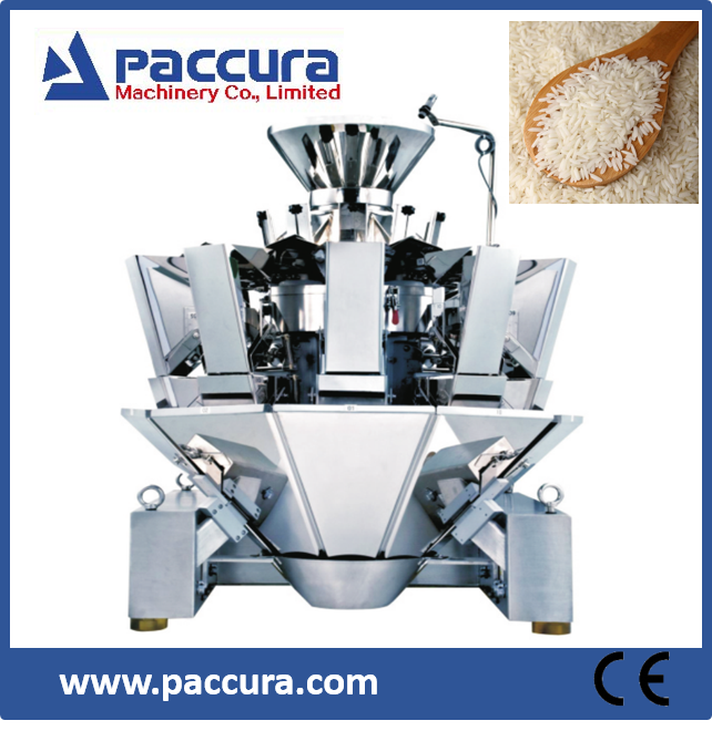 10 heads Automatic Multi-mouth Feeder Weigher/Packaging Machine