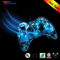 Customized shell for xbox 360 controller led light