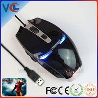 game iron man high quality new customized laser computer usb optical iron man for pc laptop 4 speed wired mouse