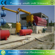 After-sales Service Provided waste tyre oil pyrolysis plant with two year free warranty