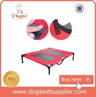 New Pet Product Outdoor Fabric Portable Elevated Trampoline Dog Bed
