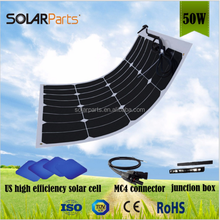 2018 new 50W flex solar panel price for Golf Car,Yacht,Roof Power station