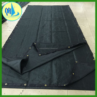 6'x50' Green Fence Windscreen & Privacy Screen & Fabric Mesh w/ Brass Grommets (Custom Sizes Available)