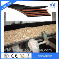 Manufactory provide polyester fabric acid and alkaline resistant conveyor belt for Chemical,fertilizer and paper mill
