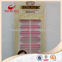 hot stamping minx nail polish stickers strips