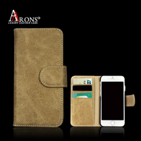 Genuine leather crocodile pattern mobile phone case for iphone 6s plus