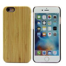 Bamboo products wholesale wooden phone case for iPhone 6 Luxury phone case