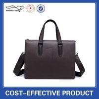 hot new products for men genuine leather handbag for man
