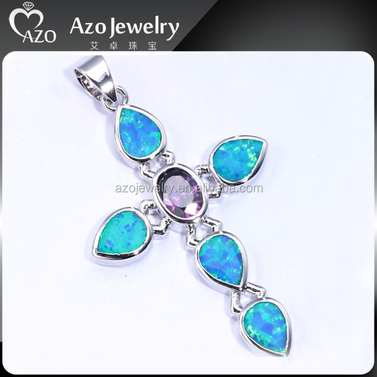 Brilliant 925 sterling silver opal circle pendant necklace for What does 925 ksj mean on jewelry