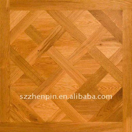 Solid Wood Parquet Flooring <strong>Oak</strong> wood versailles art parquet flooring