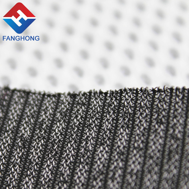 100 percent polyester open mesh fabric hex mesh fabric for laundry