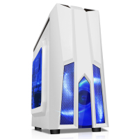 SAMA mini tower cube gaming atx vertical computer case