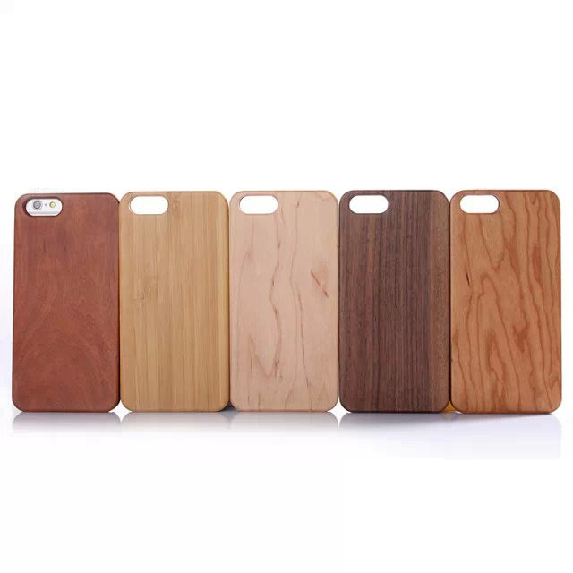 Factory Price PC Wood Phone Case for iPhone 6 plus 5
