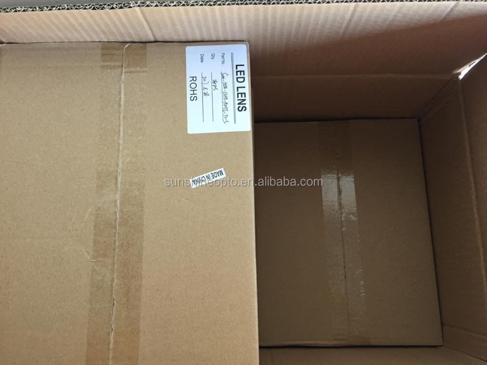 7070 SMD 150 degree Wide angle 2x2 PC High bay lens