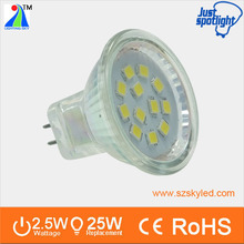 New lighting systems mr11 12v led lamp 3w