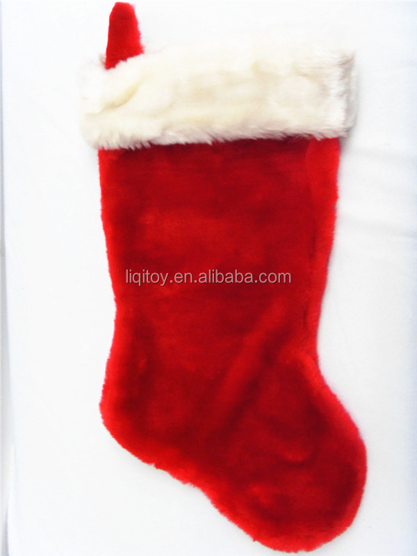 new plush christmas stocking