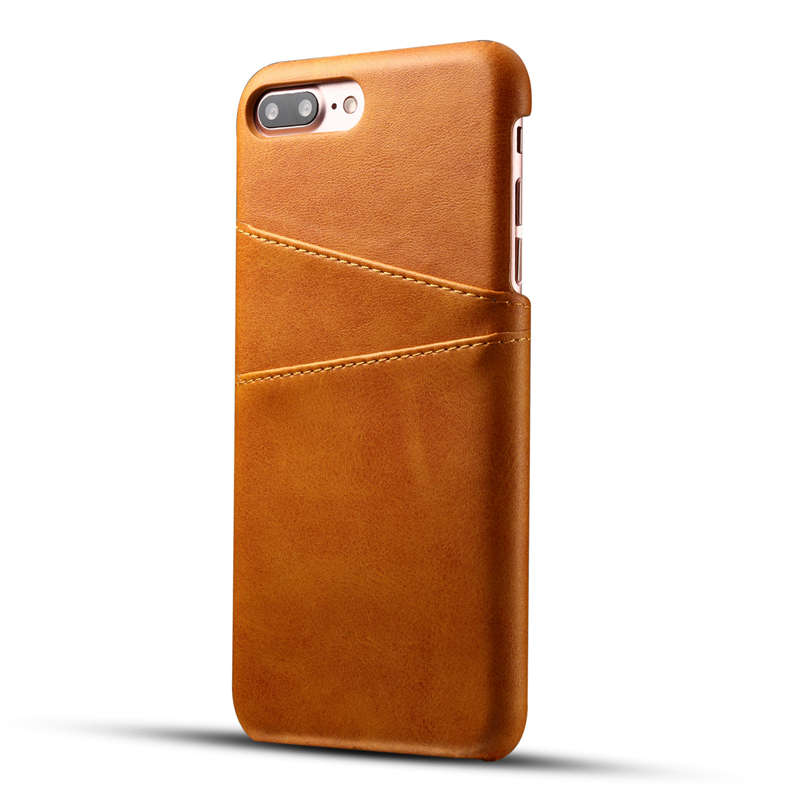 Promotional Card Slot PU leather cell phone case for iphone 7 7 plus