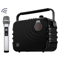 New Products 60W Portable Mini echo speaker OEM With Wireless Microphone For Karaoke Ktv Party