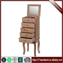 Selling Well New Classic Antique Mirror Jewelry Cabinet