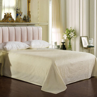 Weisdin latest design jacquard luxury cheap stock bed sheet set