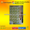 pvc shower curtain with your print