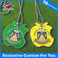 Enamel color dog tag decorative dog tags