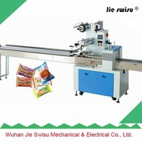 Automatic horizontal flow packing machine for gift card