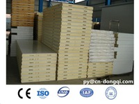150mm pu sandwich wall panel for cold room panel