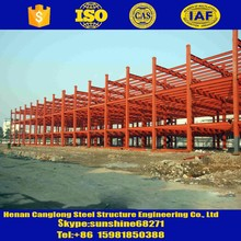 Steel company steel structure building project