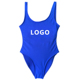 17 Colors Women One Piece printed Swimsuit bikini Monokini lady custom letter bathing suit