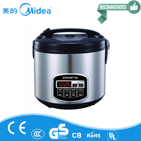chinese cooker and kitchen appliances rice cooker stainless steel inner pot with Midea Brand
