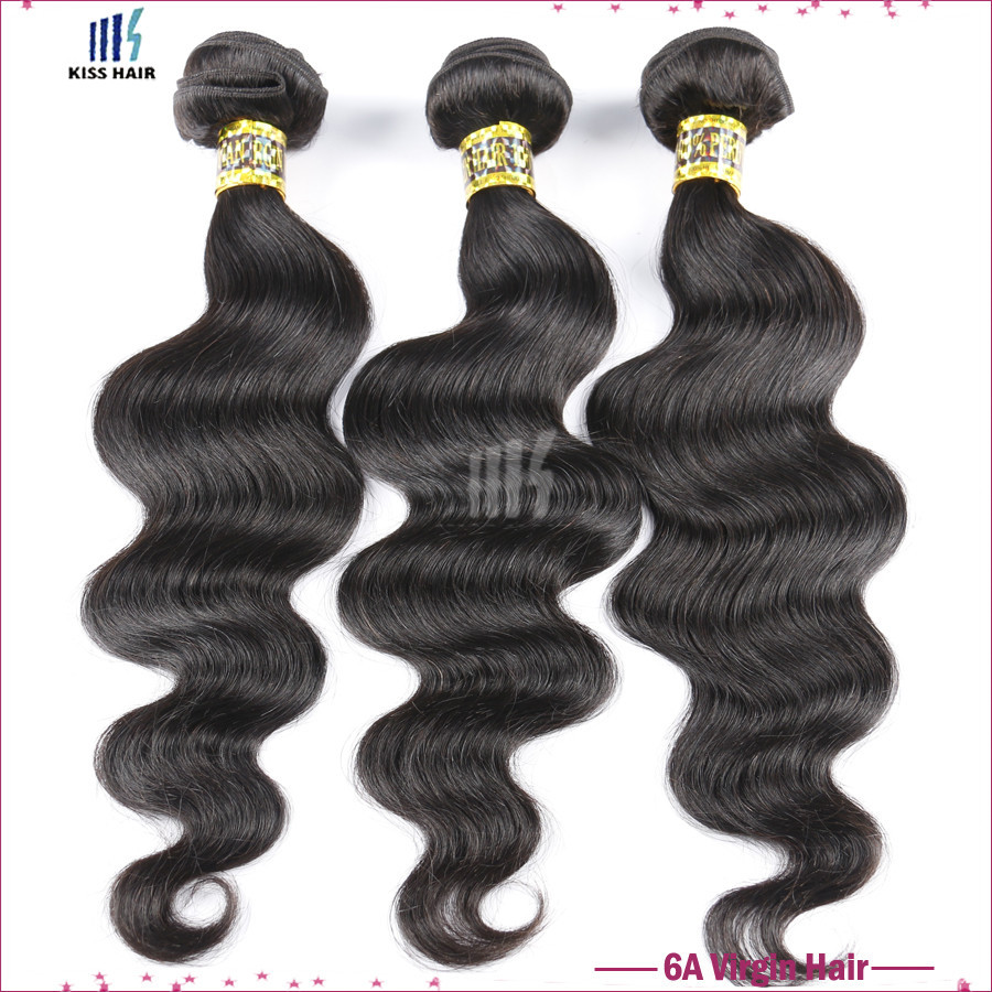 "Peruvian Body Wave 10""-28"" 3pcs lot 6A Unprocessed Virgin Hair Kiss hair Pervian Virgin Body Wave Hair Cheap Human Hair Weaving"