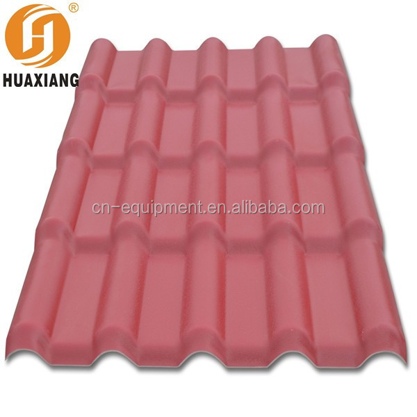 2016 new style clay roof tile plastic roof tile